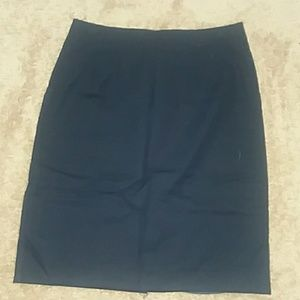 H&M pencil skirt Navy color
